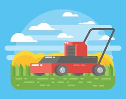 Lawn Mower Illustration
