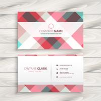 modern business card  template vector design illustration