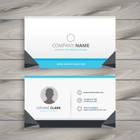 Creative business card  vector design art illustration