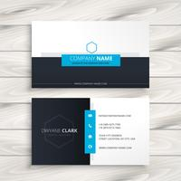 modern business card design vector design illustration