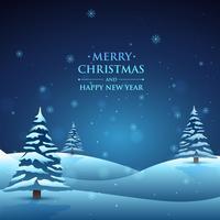 natt julscenen