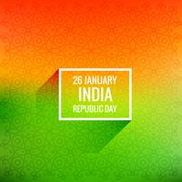 26 january republic day vector design illustration