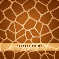 modèle sans couture de girafe