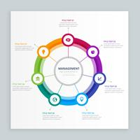 infographic business management template