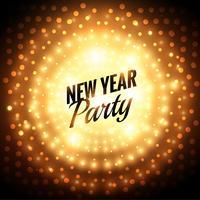 nytt år fest hälsningskort