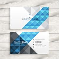 creative abstract business card template vector design illustrat