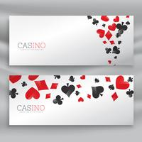 awesome set of casino banners