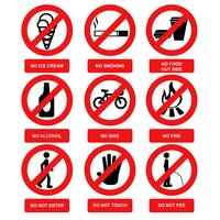 Warning Sign Vectors