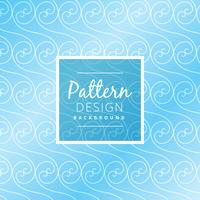 blue swirl pattern background vector design illustration