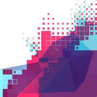 fundo abstrato pixel