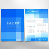 business abstract flyer