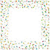 fundo de celebração de confete com espaço para seu texto