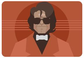 James Brown Potrait Vector