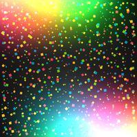 fundo colorido de celebração com confete