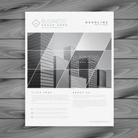 företagsversionsbroschyr flyers presentationsmall