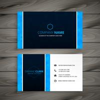 abstract business card template vector design illustration
