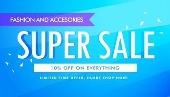 superförsäljning reklam banner mall design