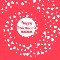 valentines day pink background vector design illustration