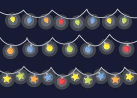 Free Christmas Lights Vector
