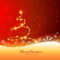 schöne Weihnachtsgrußkarte