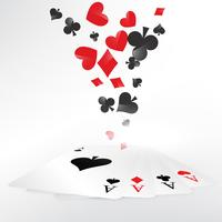 casino playing cards illustration