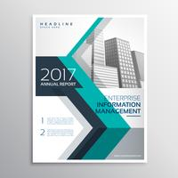 elegant annual report brochure design in size A4