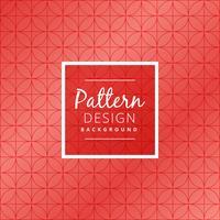 seamless red circular pattern vector design illustration