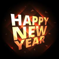 happy new year greeting background