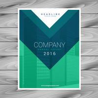 page de couverture de magazine design minimaliste