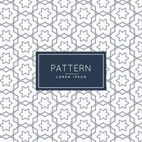 minimal line flower pattern background design