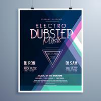 Electro Music Party Event Flyer Vorlage