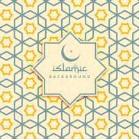 creative arabic background pattern