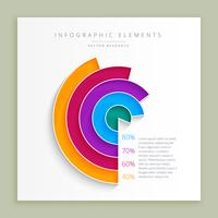 abstract infographic design template