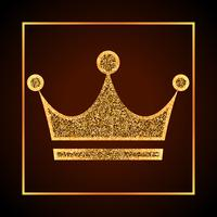 golden dots crown