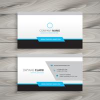 clean business card for company vector design illustration