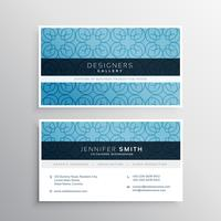 modern company business card design