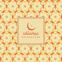 islamitische achtergrond met kleurrijk patroon