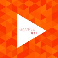 orange triangle pattern background