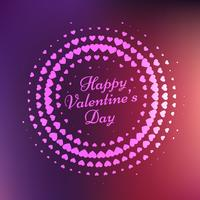 happy valentines day card vector design illustration