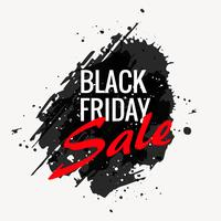 black friday grunge style banner design