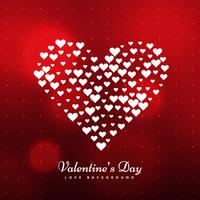 stylish valentines day background vector design illustration