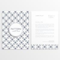 abstract company leaflet template