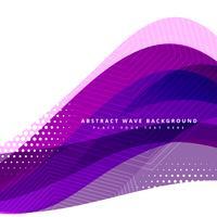 paarse golvende achtergrond ontwerp vector