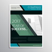 abstract dark color company business leaflet brochure template