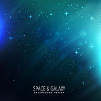 luzes do espaço com estrelas