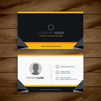 modern creative business card. Business vector design illustrati