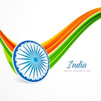 indian republic day background vector design illustration
