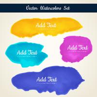 watercolor stain set