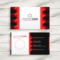 creatief bedrijf visitekaartje sjabloon vector ontwerp illustrat