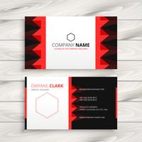 empresa creativa tarjeta de visita plantilla vector diseño illustrat